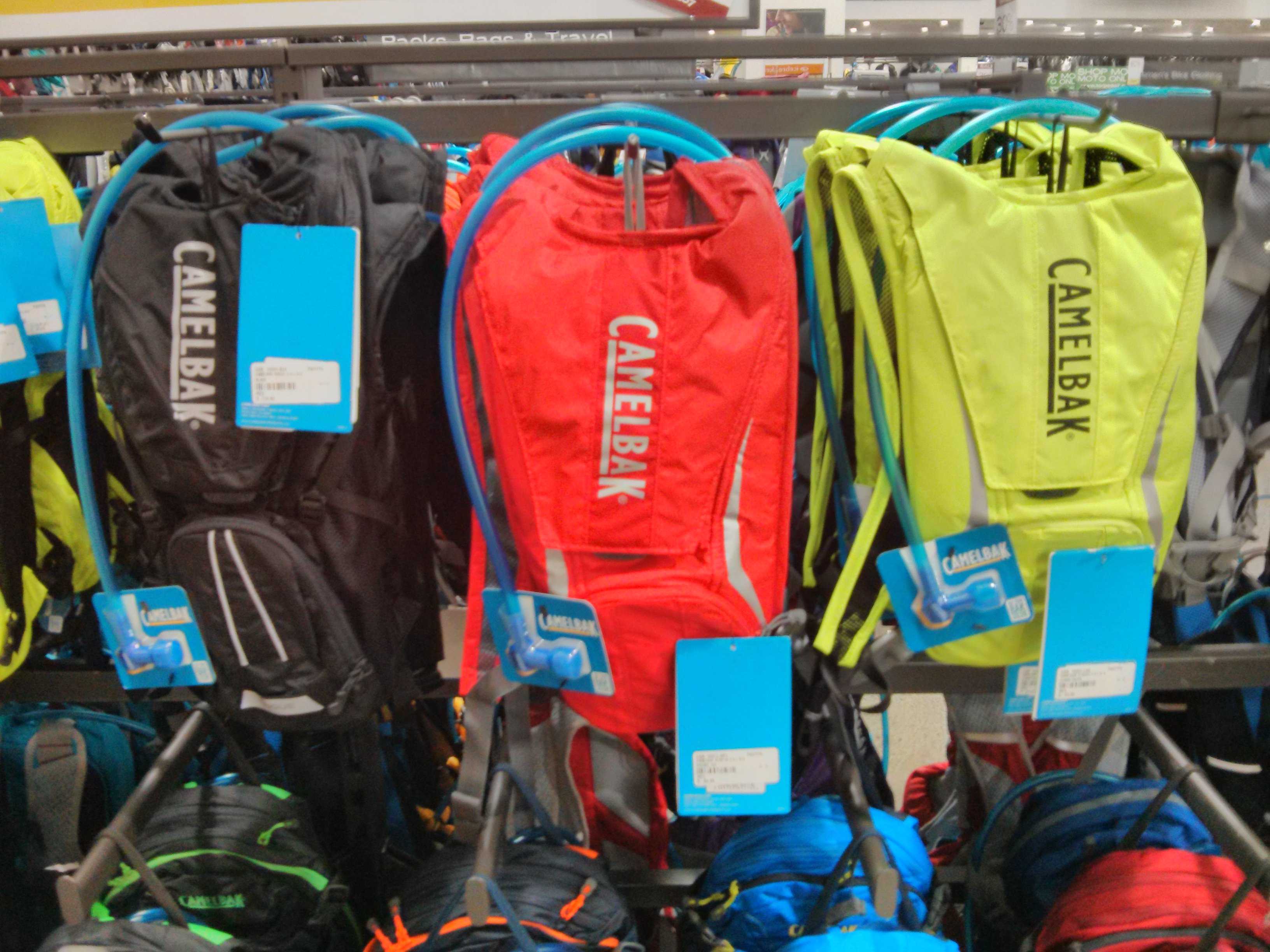 These Camelbak Classics hold water and not much else.