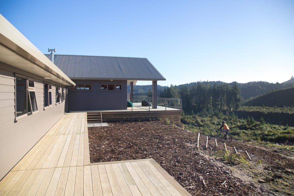 TImber Trail Lodge Deck